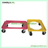 Ferramenta roda sólidos de skate Dolly Móvel de plástico
