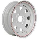 12X4 (4-100) Белый говорил обода колеса прицепа