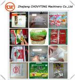 Spitzenverkaufs-automatischer Plastikheißsiegelfähigkeit-Ausschnitt-Beutel, der Maschine herstellt