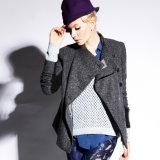 Новейшие разработки дамы моды зимний шерсть длинной втулки нанесите на