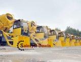Krachtige Motor en Mixer met 4 wielen van de Vrachtwagen van de Lading van de Leiding de Zelf Mobiele met Auto Wegend Systeem op Verkoop