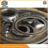 Guarnizione della ferita di spirale della grafite del metallo; Guarnizione a spirale della ferita della grafite con l'anello esterno e l'anello interno, guarnizione a spirale della ferita, non guarnizione a spirale della ferita dell'amianto