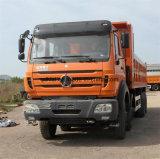 Beiben Ng80 팁 주는 사람 트럭 380HP 12 바퀴 덤프 트럭