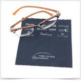 Panno di pulizia di vetro di Microfiber dell'occhio promozionale