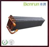 Bobina di alluminio di riscaldamento o di raffreddamento del condensatore del tubo di rame dell'aletta