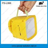 Lanterna solare portatile di energia di potere del comitato solare con la radio MP3