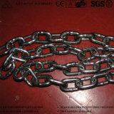 DIN5685 Acero al carbono de cadena de eslabones de cadena soldada corto largo