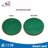 カスタマイズされたデザイン13.56MHz PVC RFID地下鉄のスマートカード
