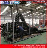 90 de graad Golf RubberTransportband van de Zijwand