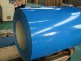 Bobina de acero prepintada/PPGI/hoja de acero galvanizada cubierta color del soldado enrollado en el ejército en bobina