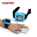 Contec CMS50FW Muñeca Wireless Bluetooth USB sonda blanda pulsioxímetro de expertos de la fábrica Telemed proporcionando Comprobador de cuerpo de la casa y en el extranjero