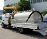 Isuzu 600p Petite Grue camion avec réservoir de stockage de l'eau 3000litres 4000litres