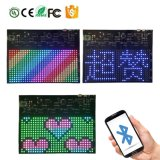 Nuovo segno flessibile di Scrolling di colore completo mini LED di stile 16X32 RGB con controllo di comunicazione di Smartphone Bluetooth APP