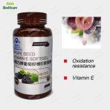 L'oxydation anti- anti- vieillissement de la beauté de la peau d'aliments de santé de la vitamine E Capsule de pépins de raisin (60 softgels/ bouteille)