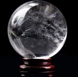 Pedra da energia de cura de Elixir de vidro Gemstone Fengshui bola de cristal de quartzo natural