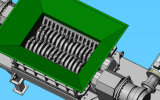 Desfibradora gemela resistente del eje de Dgd1500h