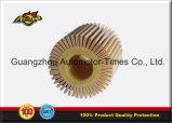 04152-31090 filtro de petróleo caliente de la venta 04152-Yzza1 para el filtro de aire del coche para el aire del filtro
