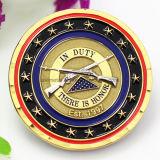 Moneta di oro su ordinazione 3D per il reparto di giustizia
