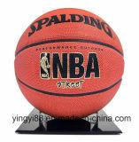 Novo carrinho de futebol acrílico de basquete preto base