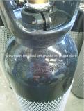Cilindro de gás de aço do oxigênio