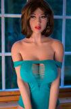 juguete del sexo de la vagina de la muñeca del sexo de los Boobs grandes grandes de la muestra libre del 170cm el mejor