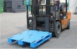 plateau en plastique Rackable de HDPE en plastique lourd plat de palette de 1200*1000*150mm avec 3 turbines (ZG-1210 plats)