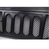 Plastique noir 4X4 d'ABS de Lantsun J215 outre des pièces de route pour le gril avant de Jk de Wrangler