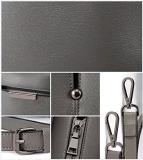 Sac fourre-tout gris en cuir PU (BDMC103)