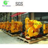 Compresor de pistón del aumentador de presión de la presión de gas de metano de la refrigeración por agua