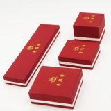 Подгонянная напечатанная логосом коробка ювелирных изделий хранения упаковывая (J17-E1)