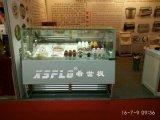 Frigorifero & congelatore del gelato di caso di visualizzazione del gelato