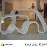 surface solide acrylique en pierre artificielle blanche de 12mm Corian