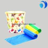 주문을 받아서 만들어지는 HDPE/LDPE 쓰레기 공간 색깔과 거대한 까만 쓰레기 봉지 플라스틱 서류 봉투 도매 생물 분해성 부대 롤 또는 뭉치에 인쇄