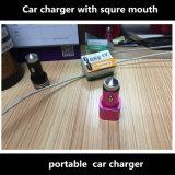 2 порта USB держатель автомобильное зарядное устройство для iPhone аксессуары для автомобиля