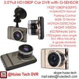 "Nova Câmera Dash Camcorder Full HD 3.0 ""Full HD HD1080p com formato H264. MOV DVR, caixa preta Black Mega Car, lente 6g, ângulo 170RD 3017"