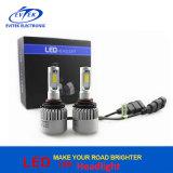 bulbos do farol do diodo emissor de luz de 72W 8000lm 9005 Hb3 S2 para o farol 6500k do diodo emissor de luz do carro