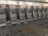 18のヘッド9カラー平らな刺繍機械