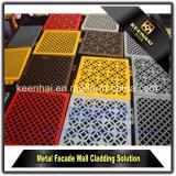 Comitati di alluminio della facciata colorati PVDF del materiale da costruzione per il rivestimento della parete della costruzione