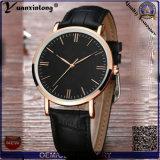 Yxl-406 рекламных новый стиль кварцевые Часы мужские наручные часы из натуральной кожи Fashion антистатический браслет из нержавеющей стали смотреть оптовая торговля