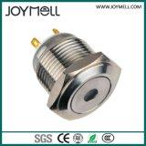Bouton poussoir électrique de POINT en métal de la CE DEL de qualité