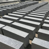 Paracarro grigio naturale della pietra della strada del bordo dei lastricatori del granito G603