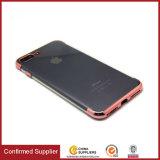 Super Slim electrochapa TPU caja del claro del teléfono celular para el iPhone