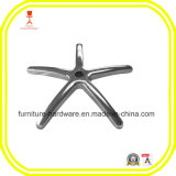 Base de la silla 5-Star reemplazo moldeada de aluminio para muebles de oficina