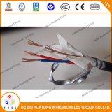 Padrão 12/2 do certificado UL83/1569 do UL 12/3 10/2 10/3 cabos blindados 600V do cabo folheado do metal da liga de alumínio do cabo de Thhn-Mc