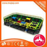 Большая кровать самый безопасный Trampolines батут с сети безопасности