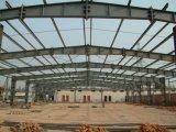 A construção de aço pré-fabricada elegante verteu para o parque de estacionamento
