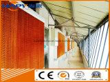 Équipement de hangar de contrôle de la volaille avec construction de maisons préfabriquées pour un seul arrêt