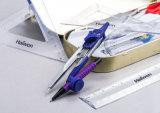 La cancelleria stabilita di Haiwen 11 PCS di per la matematica viola di alta qualità ha impostato per gli allievi
