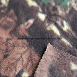 Panno morbido polare di stampa della foresta con una spazzola 1 Antipilling laterale dei due lati