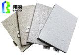 L'aluminium en pierre d'enduit des graines lambrisse le constructeur décoratif en pierre de panneau de mur